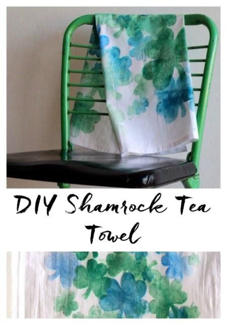 Shamrock Tea Towel - Sparkle Living