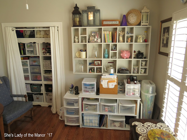 My New Craft Room - She's Lady of the Manor