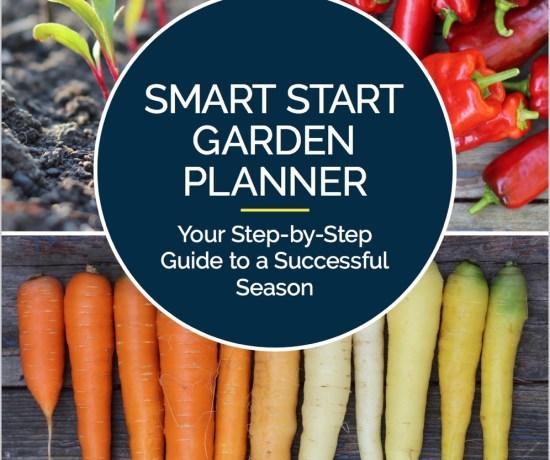 A Book Review: Smart Start Garden Planner | angiethefreckledrose.com