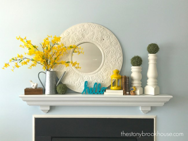 Spring Mantel | The Stonybrook House