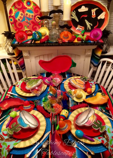 Cinco De Mayo Tablescape | Smashing Plates Tablescapes
