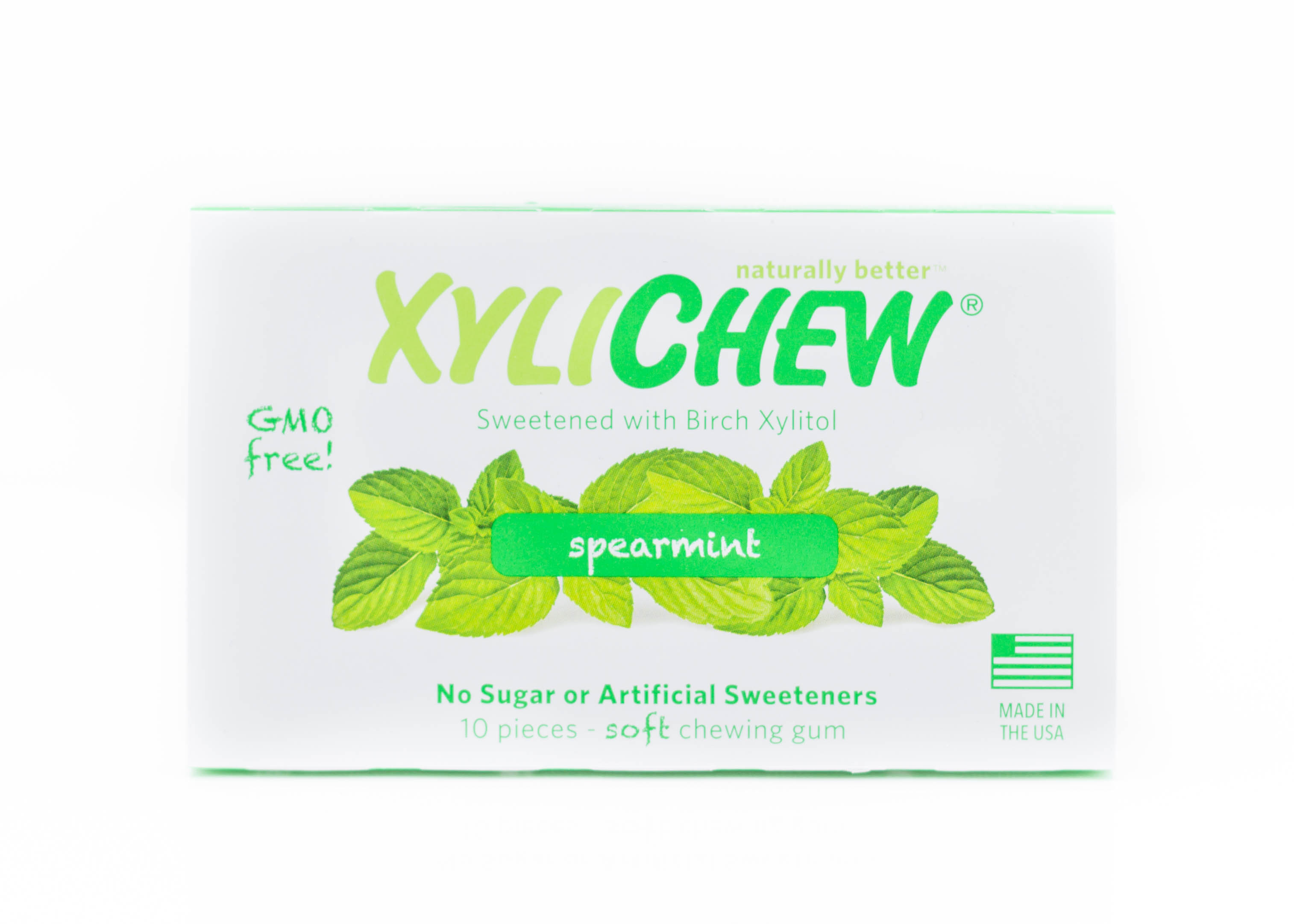 XyliChew Spearmint Gum (60 pieces) $8.66 - This naturally delicious chewing gum is GMO free, contains no sugar or artificial sweeteners and is gluten free. They use Birch Xylitol extracted from sustainable US forests. It helps reduce the acid-producing bacteria that erodes tooth enamel. Other flavors include cinnamon, peppermint, ice mint and fruit. Some ingredients include vegetable glycerin and sunflower lecithin. You can enjoy a treat without worrying about chewing something that contains anything harmful. I love the spearmint flavor and it keeps your mouth feeling fresh.