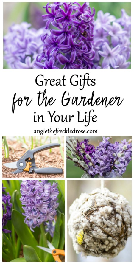 Great Gifts for the Gardener in Your Life | angiethefreckledrose.com