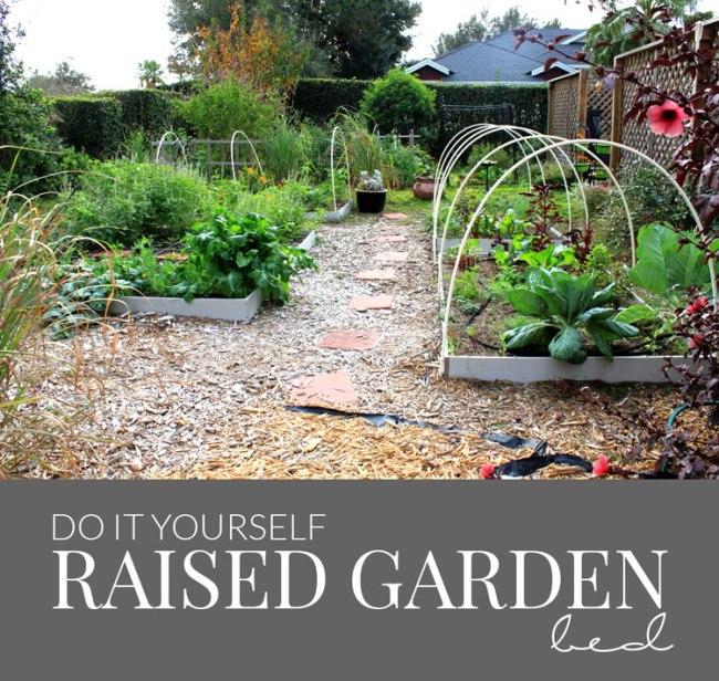 DIY Raised Garden Bed | Hello Nature