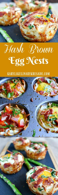 Hash Brown Egg Nests | Karyl's Kulinary Krusade
