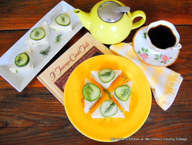 Tea Time w/ Cucumber Tea Sandwiches | Mix Helen's Country Cottage