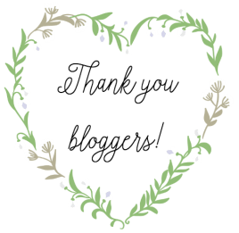 Thank You Bloggers | angiethefreckledrose.com