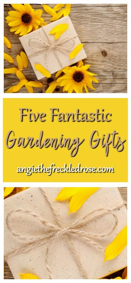 Five Fantastic Gardening Gifts | angiethefreckledrose.com