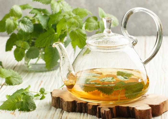 Calming & Stress Reducing Lemon Balm & Lavender Iced Tea
