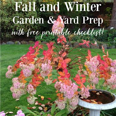 Fall and Winter Garden Prep - An Oregon Cottage