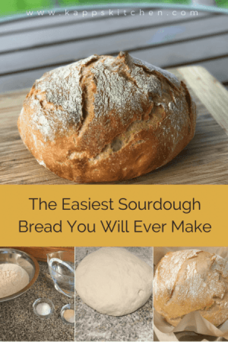The Easiest Sourdough Bread | Kapp's Kitchen