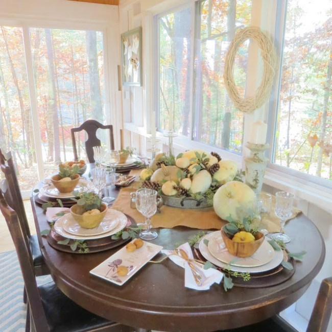 Thanksgiving Tablescape | Design and Events