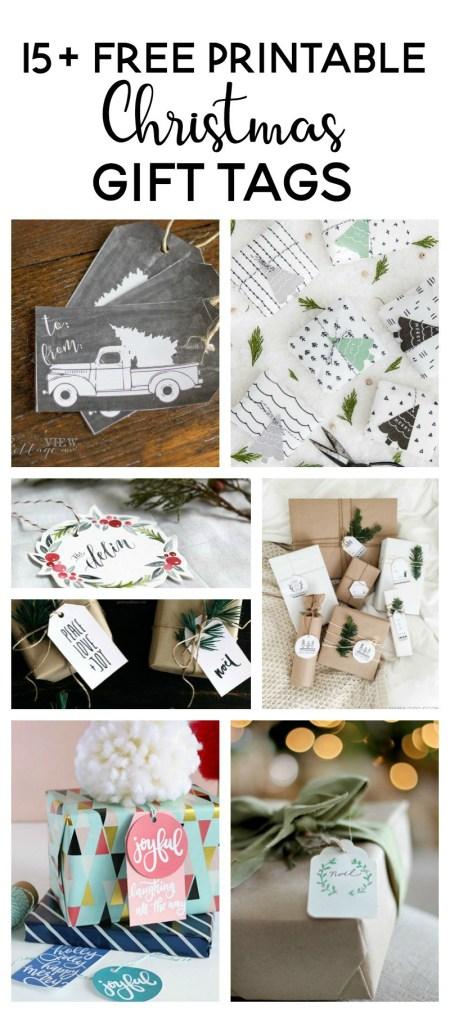 15 Free Printable Gift Tags | Making Joy & Pretty Things