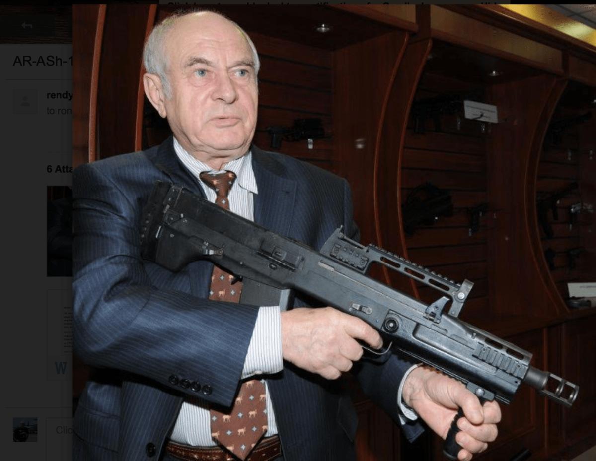 Ash-12.7, Senjata Rahasia Pasukan Intel Rusia