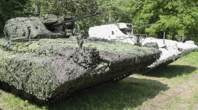 Batalyon ISTAR AD Slovakia Terima Puluhan IFV Amfibi Baru
