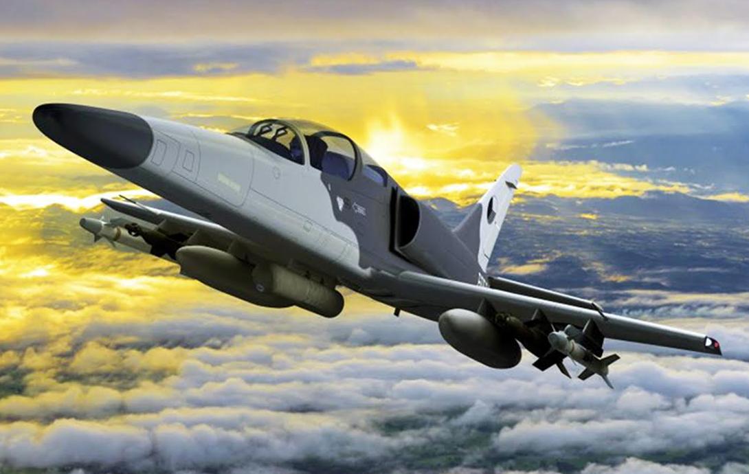 Jet Tempur Multiperan F/A-259 Striker Diperkenalkan Ceko dan Israel di Farnborough