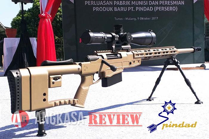 SPR-4, Senapan Runduk Buatan Pindad dengan Munisi Spesial .388 Lapua Magnum