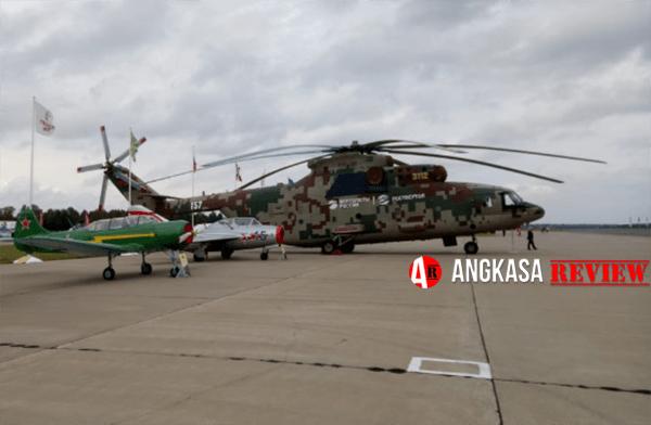 Uji Awal Helikopter Mi-26T2V Akan Selesai Akhir Tahun 2018