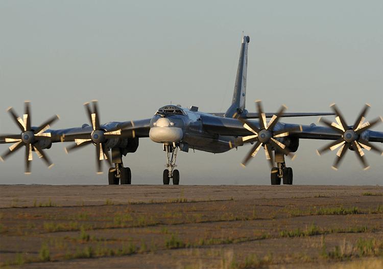 2 Pembom Tu-95MS Kembali ke Markas dengan Kemampuan Meningkat