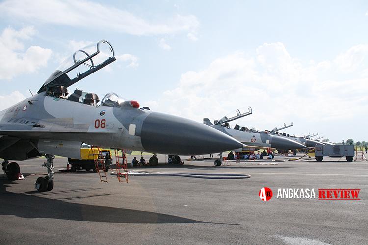 100 Personel Skadron Udara 14 Sudah Kursus Bahasa Rusia, Hanggar Su-35 Belum Dibangun