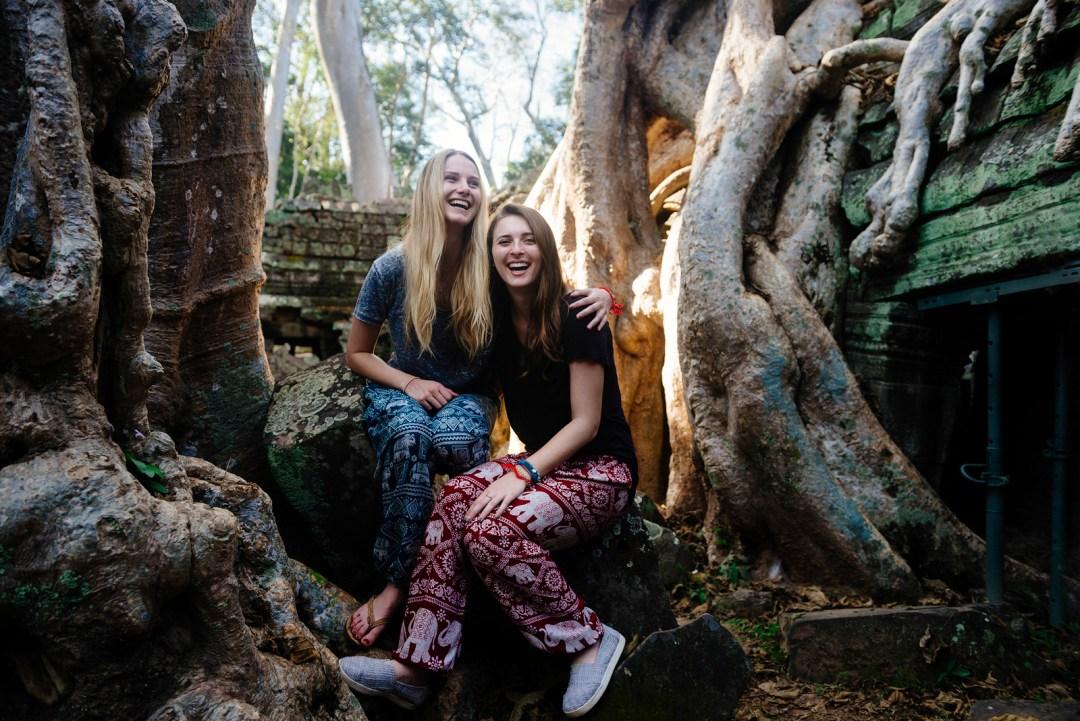 Sisters in Angkor