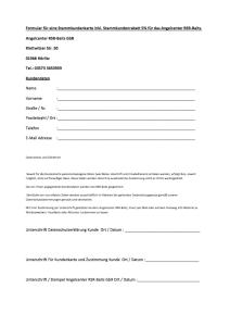 Antrag für RSR-Kundenkarte Downloads-Anträge