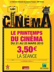 Printemps du cinéma 2010