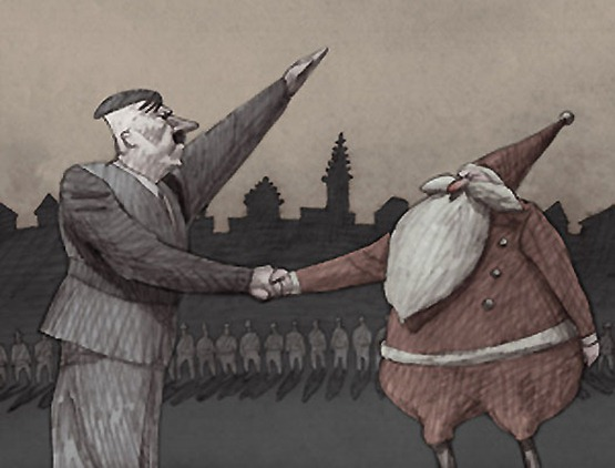 Santa the fascist years