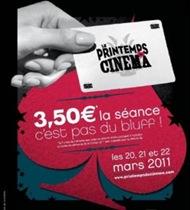 Printemps du cinéma 2011