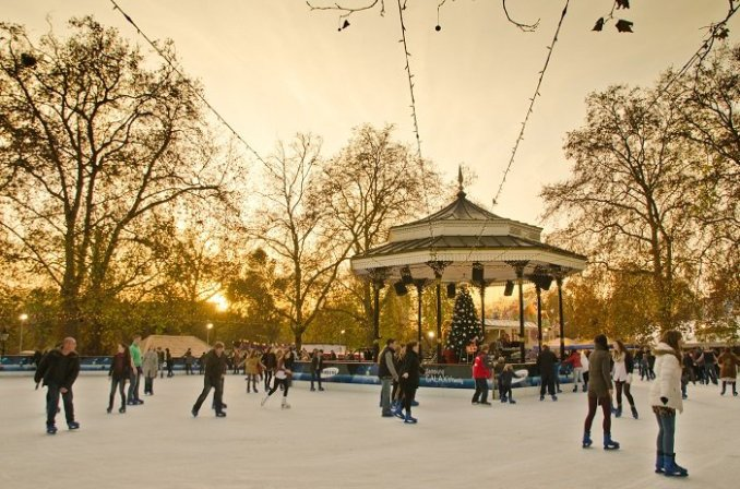Winter Wonderland Londonban