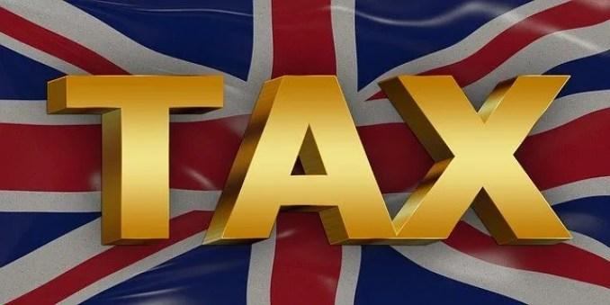 adózás angliában