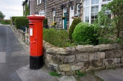 angol postaláda