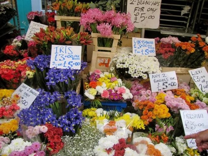 virágpiac Londonban