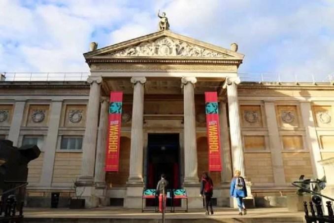 Ashmolean múzeum Oxford