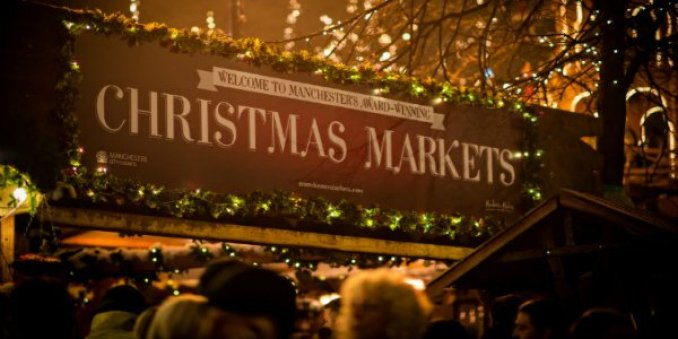 Karácsonyi vásár Manchesterben
