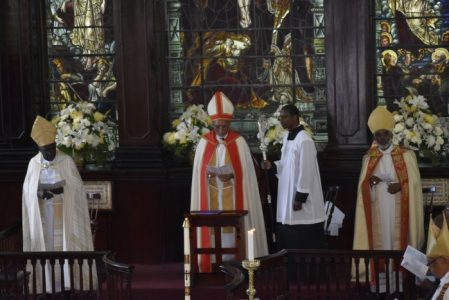 Sermon preached by The Rt. Rev. Howard Gregory Bishop of Jamaica & The Cayman Islands (Anglican)at the Opening Service of the 148th Synod of the Church in Jamaica and the Cayman Islands at St. James' Parish Church, Montego Bay April 3, 2018