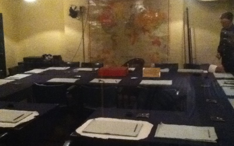War Room in Churchill War Museum