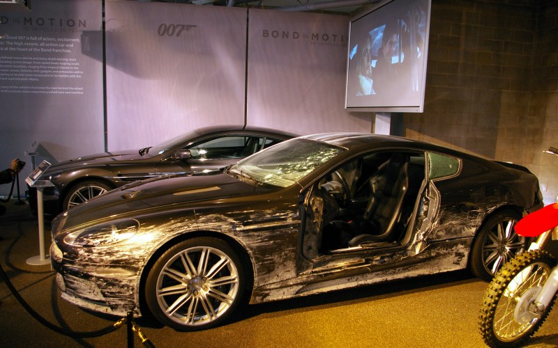 Aston Martin D85 used in Skyfall