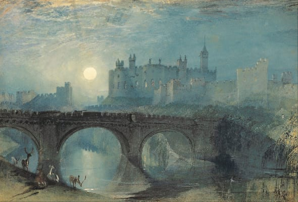 The Castle Painted by Turner