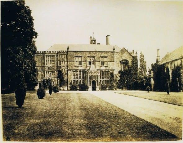 Brympton_entrance_front_1860