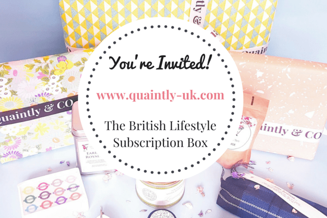 Guest Post: British Lifestyle Gift Box Giveaway for