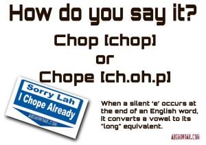 chopecard