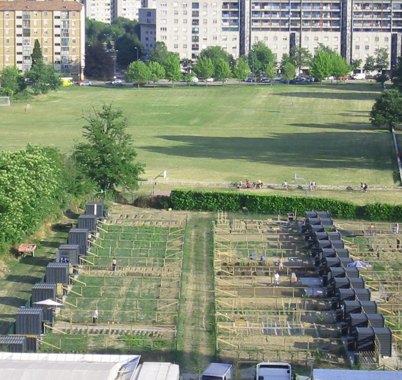 Vegetable Gardens, Milan