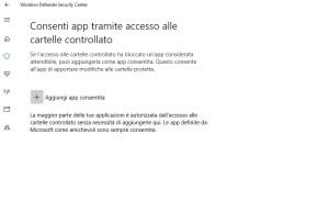 cartelle protette 02 300x184 - Come configurare correttamente la protezione ransomware in Windows Defender