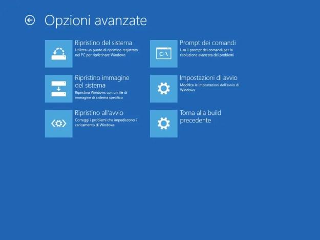 buildprevious - FIX: L'aggiornamento KB4103721 per Windows 10 provoca schermo nero a molti utenti