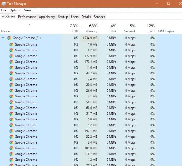 chrome01 - Ecco come ottimizzare Chrome affinché non consumi troppe risorse