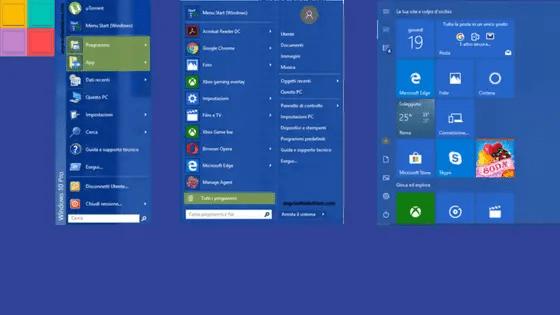 startmenù3 - Come personalizzare lo start menù di Windows 10