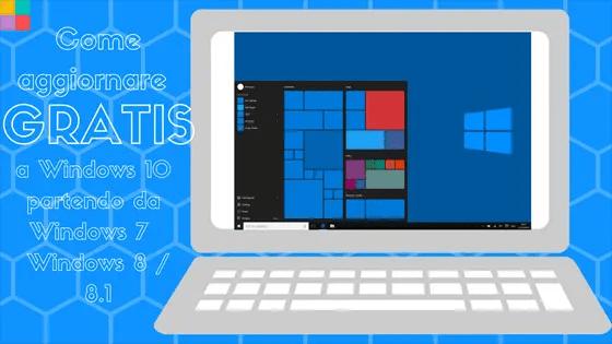 Come aggiornare gratis windows 10 560 - Come aggiornare GRATIS a Windows 10