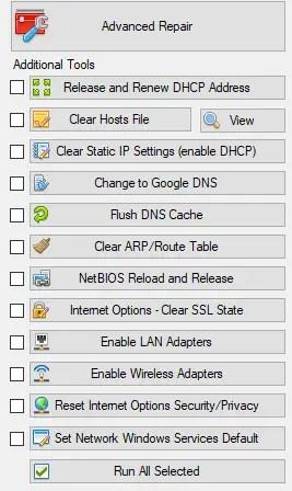 netrepaid - Reset completo delle connessioni di rete in Windows