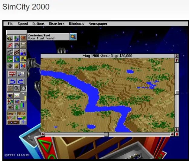 simcity01 - Come giocare ai titoli storici degli anni 90-2000